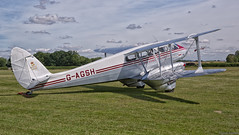 DH.89a Dragon Rapide (f0rbe5) Tags: uk red silver airplane bea aircraft bedfordshire aeroplane engines raf airliner t1 biplane twinengine airfield aerodrome dehavilland rapide 2015 royalairforce dominie dragonrapide oldwarden britisheuropeanairways meeson dh89adragonrapide dominiet1 dh89a gemmameeson gagsh eiajo nr808 dh89dragonsix gypsymajor6engines gypsymajor6 rafparachutingassociation channelislandairways islanderclass phillipmeeson shuttleworthwingsandwheels2015