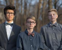 2016 VPHS Homecomming: Jacob, Luke and Braden (bspawr) Tags: portrait dance jacob luke bowtie highschool mo freshman homecomming braden 2016 valleypark vphs bspawr bspawrphotography twinoakspark valleyparkhawks