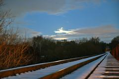 DSC_8633 (FirehawkNS) Tags: bridge snow river nc traintracks tracks northcarolina fullmoon moonrise snowday trainbridge moonshine movingclouds mountholly moonandclouds catawbariver gastoncounty winterinnc