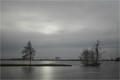Variations on a theme 7 | 7 (Marijke M2011) Tags: longexposure sky lake water landscape mood outdoor tranquility atmosphere le serenity viewpoint vinkeveen waterscape vinkeveenseplassen lonelytrees derondevenen lostislands vanishingislands