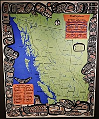 First Nations of British Columbia (Will S.) Tags: ontario canada art gallery artgallery maps canadian trunks emilycarr mypics kleinburg aboriginalart canadiana groupofseven tomthomson mcmichael mcmichaelcanadianartcollection mcmichaelgallery