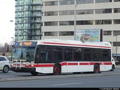 Toronto Transit Commission #8488 (vb5215's Transportation Gallery) Tags: toronto bus nova ttc transit commission lfs 2015
