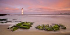 Liverpool sunrise (javier mascareas) Tags: uk greatbritain sea seascape nature liverpool sunrise landscapes ligthouses tokina1116 nikond7000