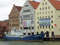 """""""Kaszubski Brzeg"""", Centralne Muzeum Morskie (transport131) Tags: museum river ship cmm muzeum gdask rzeka statek brzeg motawa kaszubki"""