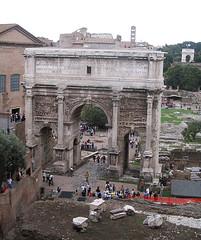 Rome 523 (Xeraphin) Tags: italy rome archaeology ancient arch roman forum latin travertine archeology inscription geta triumphal curia caracalla severus coffered tabularium parthian septimius victories