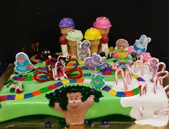 Candy land Cake (dragosisters) Tags: cake candy lands boardgame candyland