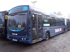 150208-003 (Diamond Bus Company 30411-YJ07OZX) (Bus Buster UK) Tags: urban west bus eclipse volvo diamond company depot wright westmidlands midlands psv pcv 30411 b7rle tividale yj07ozx diamondbuscompany
