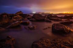Last light (dave.gti) Tags: ocean nature night sunrise rocks australia nighttime nsw aus curlcurl oceanscape