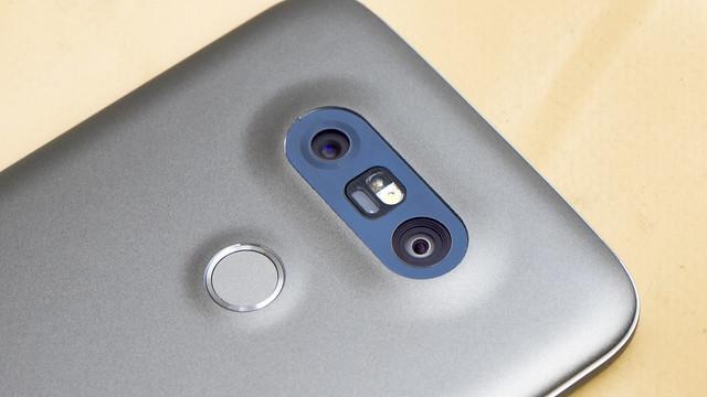 black metal silver lg g5 smartphone titan metall mwc lgg5