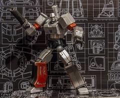 Megatron (MadMartigen) Tags: toy actionfigure transformers megatron decepticon revoltech