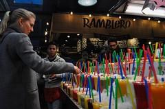 Fruit juice  #barcelona #mercatdelaboqueria #barcelonaexperience #juice (sergiguisa) Tags: barcelona mercatdelaboqueria fruitjuice