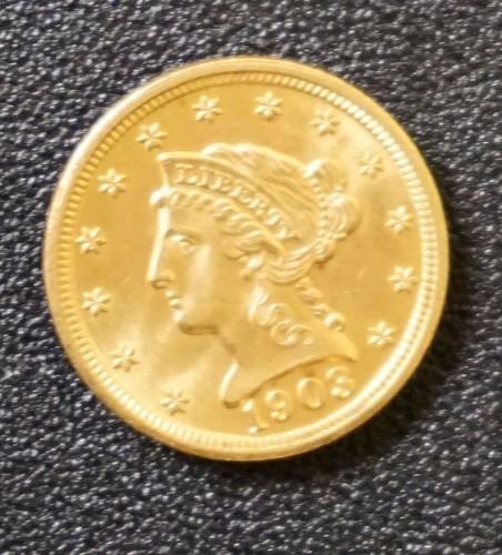 1903 Gold Coin $286.00 - 10/23/15
