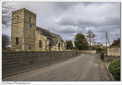 St Mary's, Roxby, North Lincolnshire (Paul Simpson Photography) Tags: road street trees building tower church nature wall clouds religious spring worship village religion churchtower stormyweather stmarys roxby stonebuilding churchclock villagechurch northlincolnshire photosof imageof photoof imagesof placeofgod sonya77 paulsimpsonphotography march2016