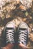 Sneakers on dry leaves (Elisa Gabbrielleschi) Tags: hello parco macro sport closeup vintage nikon natura persone copyspace acqua autunno pioggia scarpa ecoturismo ambiente goccia sfondi macchia azione camminare vegetazione attrezzatura calzature escursionismo tempolibero bagnato ecosistema fogliesecche vedutadallalto scenarurale eserciziofisico attivitàfisica metaturistica ambientazioneesterna stareinpiedi composizioneverticale nikond7100 piedeumano helloelisagabriel scarpadatela suoladiscarpa