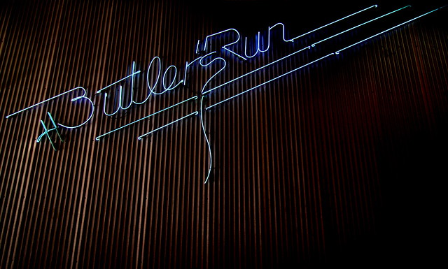 Butler's Run neon sign - Nashville
