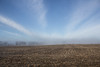 Big Blue Sky (marylea) Tags: morning blue sky clouds rural landscape cornfield midwest michigan farm bluesky 2016 mar12