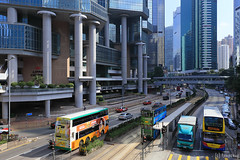 Queensway (tomosang R32m) Tags: hk bus hongkong tram  queensway lippocentre admiralty