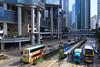 Queensway (tomosang R32m) Tags: hk bus hongkong tram 香港 queensway lippocentre admiralty 金鐘 金鐘道 力寶中心 リッポーセンター