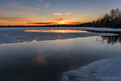 750_1714-Edit (Photographer Atacan Ergin) Tags: sunset lake clouds reflections järvi auringonlasku lapinlahti heijastus heijastukset
