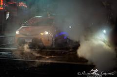 Misty cab (Hasse Larsen) Tags: travel mist newyork dark nikon cab taxi timesquare