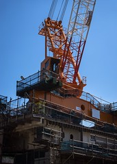 (sandman_kk) Tags: street sky japan construction crane machine heavyequipment kanagawa