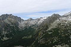 Widok z przełęczy Osterwa na północ