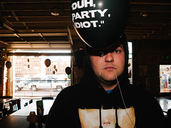 Chuck (BurlapZack) Tags: party portrait bar memorial open garage rip flash balloon celebration indoors pointandshoot somber speedlight compact inmemoriam openair inmemoryof pack01 dentontx externalflash digitalcompact canon430ex gonetoosoon canonpowershotg9 advancedcompact vscofilm mulberrystreetcantina keepdentonthrashin duhpartyidiot nickthrasher