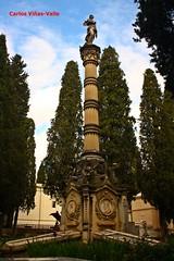 Mausoleo de Goya, Melndez Valds, General Diego de Len, Asenso Barbieri... Sacramental de San Isidro. Madrid (Carlos Vias-Valle) Tags: goya mausoleo sacramentalsanisidro