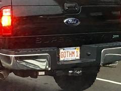 Random Photos! - His other car is the Batmobile! (Polterguy30) Tags: funny random licenseplate vanityplate batman gotham licenseplates vanityplates
