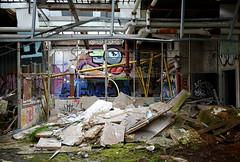 abandoned factory breukelen (wojofoto) Tags: holland abandoned graffiti nederland netherland breukelen urbex wolfgangjosten wojofoto