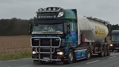D - Nienaber DAF XF 105 SSC >Water World< (BonsaiTruck) Tags: truck silo lorry camion trucks 105 airbrush ssc bulk lastwagen daf lorries lkw waterworld xf ffb citerne lastzug nienaber silozug feldbinder powdertank
