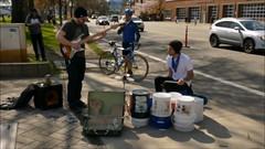 Awesome Street Music (swong95765) Tags: street music public musicians bucket bass guitar talent tips drummer entertainer busking entertaining