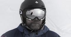 The Skier... (bent inge) Tags: snow ski norway skiing telemark haukeli haukelifjell norwegianmountains norwegianwinter bentingeask march2016