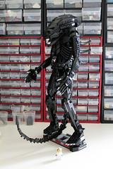 Arvo Brothers' Alien (Pedro Vezini) Tags: lego brothers alien giger nostromo arvo arvobrothers