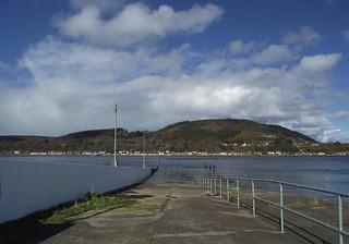 South Kessock Ferry Pier (obsolete) at Kessock, Inverness, Scotland