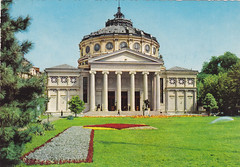 Ansichtkaart Romania Bucuresti Ateneul r.p. (dickjan thuis) Tags: architecture postcard romania bucuresti postkarte boekarest ansichtkaart ateneulrp