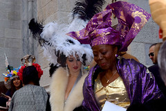african (greenelent) Tags: nyc people newyork streets fashion easter women photoaday 365 easterparade