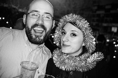 Another Clapton party (Gary Kinsman) Tags: party bw london smile houseparty pose happy blackwhite flash posed grin late slowsync clapton e5 slowsyncflash 2015 fujix100 fujifilmfinepixx100