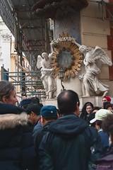 trevi crowd~ (ysella) Tags: italy rome crowd trevifountain restoration romeitaly