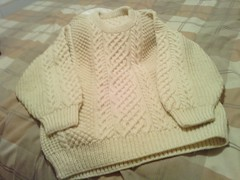 Classic aran wool sweater (Mytwist) Tags: irish white heritage classic wool fashion fetish vintage cozy sweater fisherman warm fuzzy cream ivory craft passion fishermans heavy oats honeycomb aran timeless authentic handcraft chunky crewneck vouge handknitted cabled aransweater handgestrickt aranjumper aranstyle