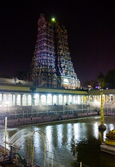 Madurai Temple by Night