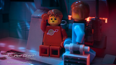 Intruder Alert 10 - Stresses of War (agaethon29) Tags: macro toy lego space scifi spaceman sciencefiction minifig minifigs cinematic minifigure 2016 ncs minifigures blacktron toyphotography intruderalert legospace classicspace neoclassicspace legophotography legography novateam brickography
