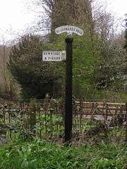 Road Sign, Mitford (aj.gardner) Tags: signs sign direction northumberland directions roadsign roadsigns signpost morpeth information mitford fingerpost roadjunction stleonardsroad castlemorpeth