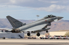 Italian Air Force Typhoon Departure (JetImagesOnline) Tags: red airplane italian fighter force exercise flag air jet eurofighter usaf 162 base typhoon italiano aeronautica nellis militare aricraft f2000a