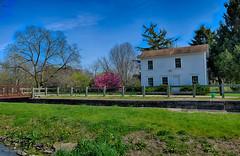 Spring Afternoon at Lock Tenders House Lock 8 (kendoman26) Tags: landscape nikon tokina hdr imcanal enjoyillinois iandmcanal nikond3300 travelillinois imcanaliandmcanal tokina1228 nikhdrefexpro2 tokinaatx1228prodx