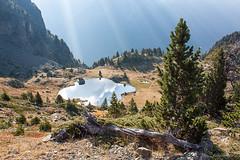 Lumire sur le lac (guishechney) Tags: alpes lac paysage chamrousse belledonne isre lacachard