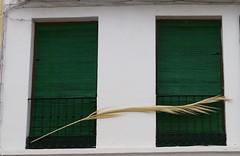 Ronda, Andalousie (Marie-Hlne Cingal) Tags: windows espaa verde green andaluca twins vert ventanas ronda espagne janelas andalousie fentres finestre andalousia twozweideuxduedva2
