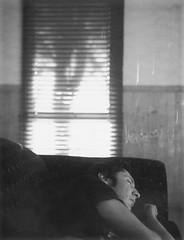 Roid Week April - Day 3 (rachael*b) Tags: blackwhite fuji sleep dreams polaroid180 roidweek savepackfilm