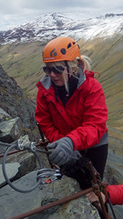 Honister_Via Ferrata (41 of 73) (Kevin John Hughes) Tags: bridge england lake snow mountains net landscape scary burma rope cargo climbing pike keswick buttermere honister dostrict fleetwith mountineering