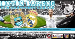 Lokasi Nobar: Nobar City Madrid Jakarta (lokasinobar) Tags: barcelona madrid city milan roma liverpool indonesia manchester real bayern la football chelsea soccer united bola arsenal serie juventus tottenham inter bareng psg liga epl suporter persija lokasi nonton persib a sepakbola nobar arema kuliner nonbar